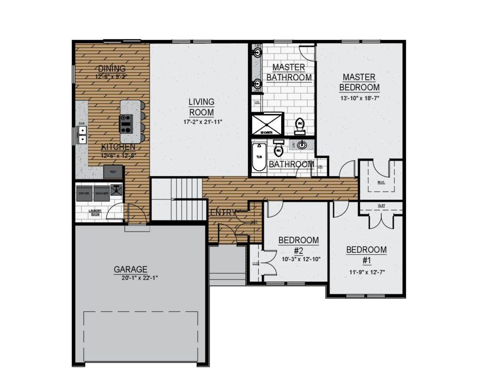 Beirstadt 3 Bedroom Rendering Website