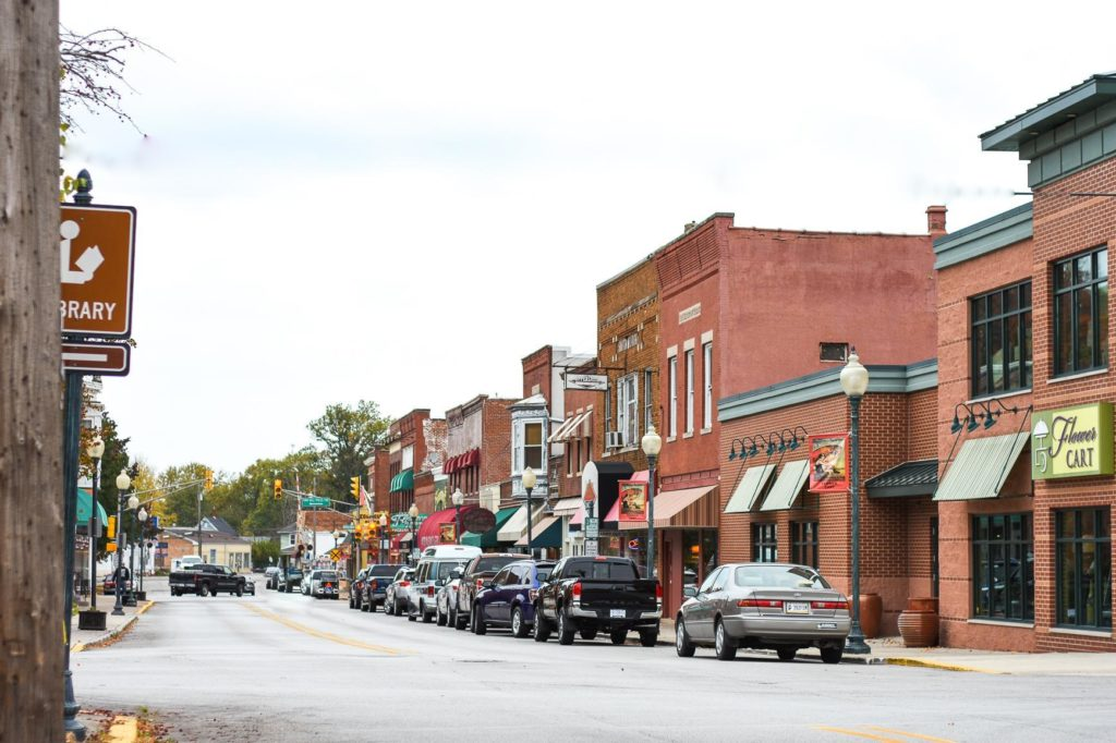 downtown chesterton