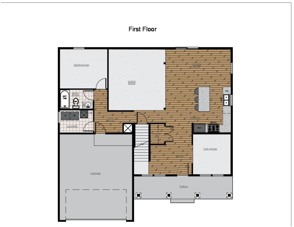 Powell II Rendering 1st Floor
